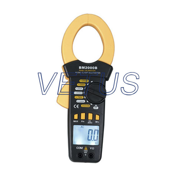 Фотография Free shipping BM2000B AC/DC 2000A Panel Calibrate Digital Clamp Meter ,calibration from Panel