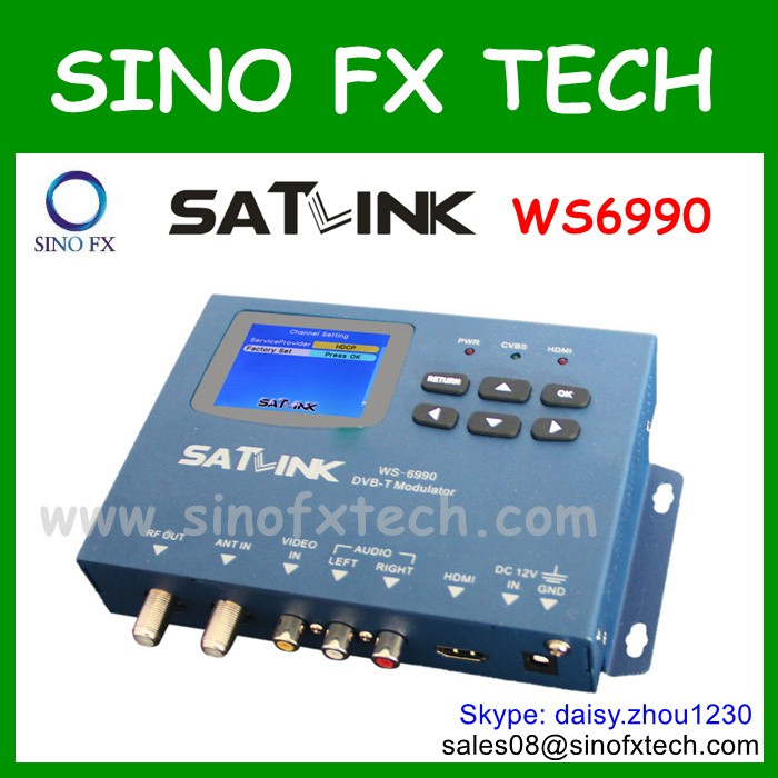 SATLINK WS6990 MODULATOR for DVB-T