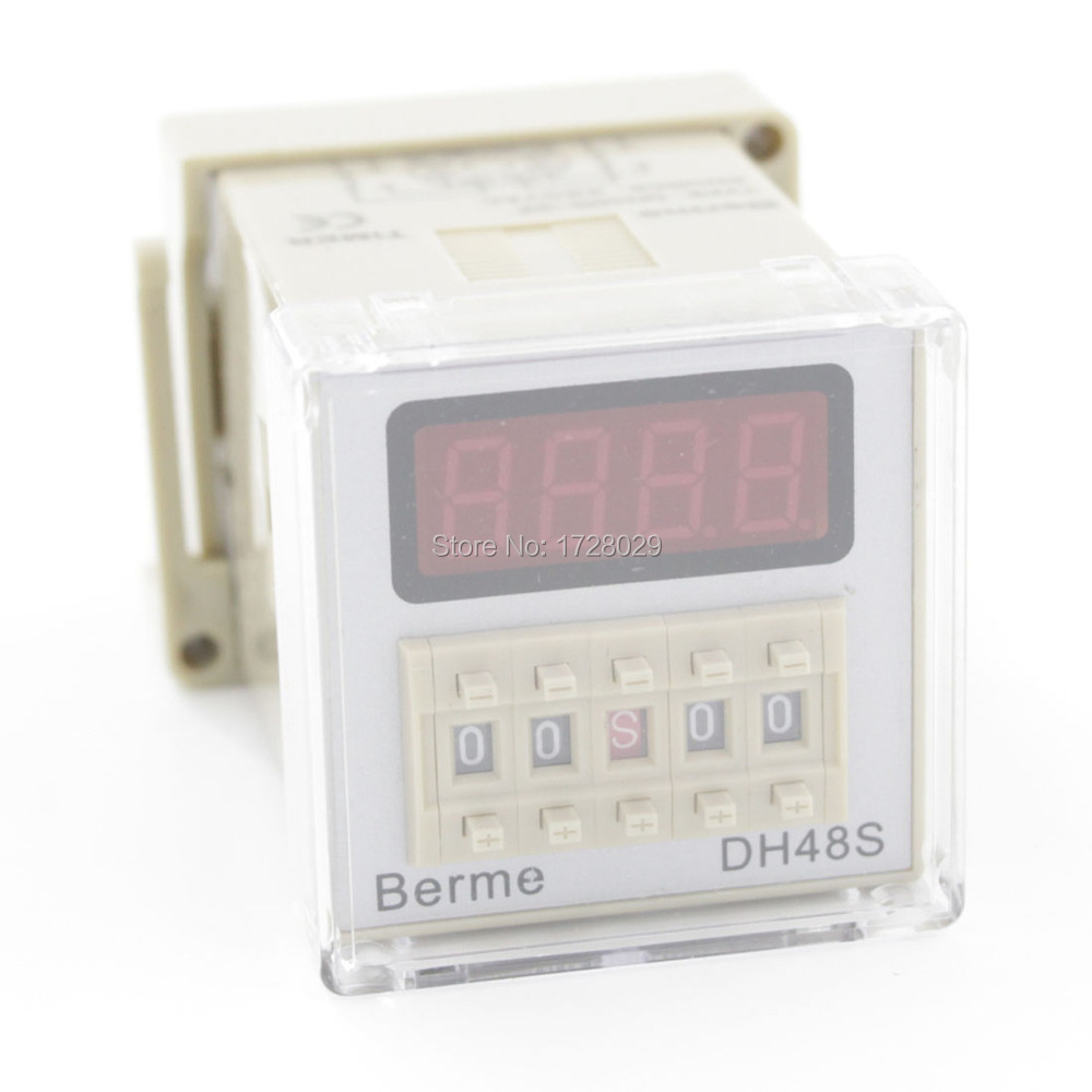 High Quality Time Relay Power On Relay Timer DH48S-2Z AV/DC 24-240V<br><br>Aliexpress