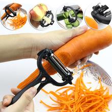 Random Color Kitchen Accessories Tools 2016 Multifunctional Carrot Potato Melon Gadget Vegetable Fruit Peeler Slicer Cutter