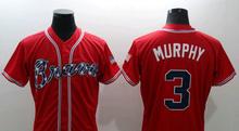 2017 Atlanta Braves Jersey Men 5 Freddie Freeman 10 Chipper Jones 24 Deion Sanders 6 Bobby Cox 44 Hank Aaron Baseball Jersey(China (Mainland))