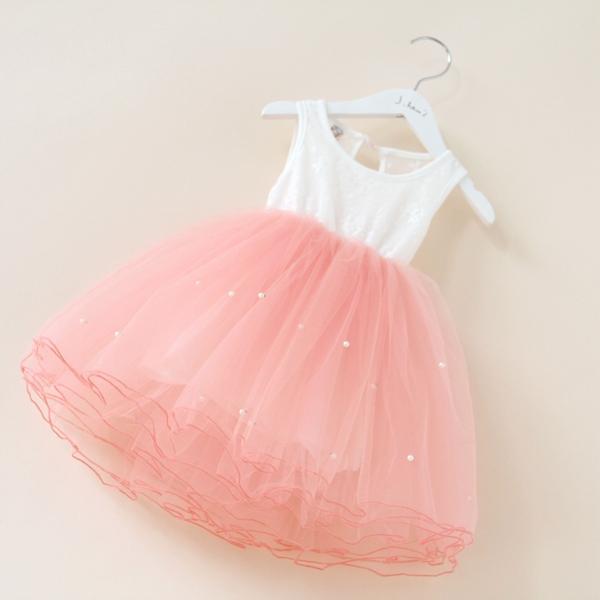 Summer Sleeveless Girl Party Dress Fashion Kids TuTu Dresses Lovely Baby Girls Casual Chilren Clothing(China (Mainland))