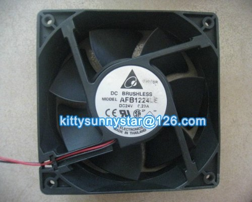 Free Express cost,Delta 12038 AFB1224LE 24V 0.23A 2Wire DC Brushless Fan,Cooling Fan(China (Mainland))