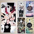 Black Cat Hard White Cell Phone Case Cover for Xiaomi Mi Redmi Note 3 3S 4 4A 4C 4S 5 5S Pro
