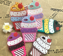 Buy Hot New 3D Cherry Ice Cream Cartoon Capa Coque Soft Silicone Phone Cases Cover iPhone 7 7Plus 4G 4S 5 5G 5S SE 5C 6 6S 6Plus for $2.25 in AliExpress store