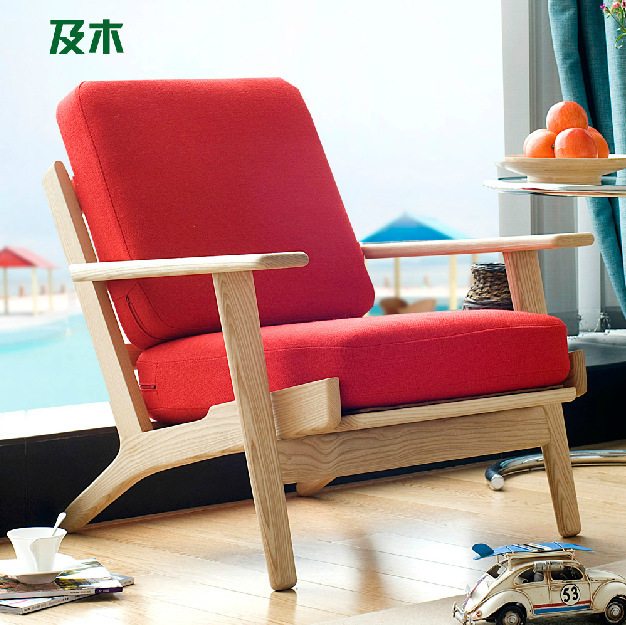 Modern Simple Fashion Design The Combination Furniture Small Family Living Room Solid Wood