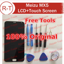 Meizu MX5 LCD Screen Original LCD Display+Touch panel Digitizer Replacement For MTK6795 1920X1080 FHD 5.5″Meizu MX5 (Black)