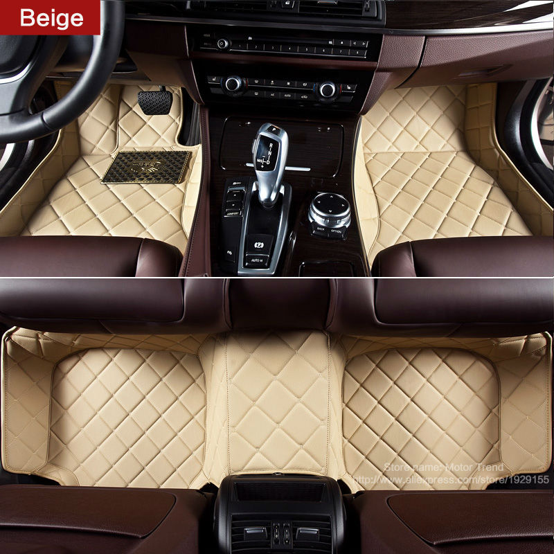 Car floor mats special for Mercedes Benz W203 CL203 W204 C204 W205 S205 C class C55 C63 AMG car styling all wather carpet rugs(China (Mainland))