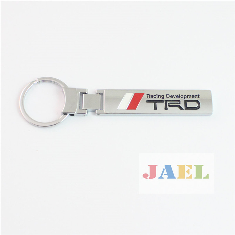 Auto 3D Metal TRD RACING DEVELOPMENT Keychain Keyring for Toyota(China (Mainland))