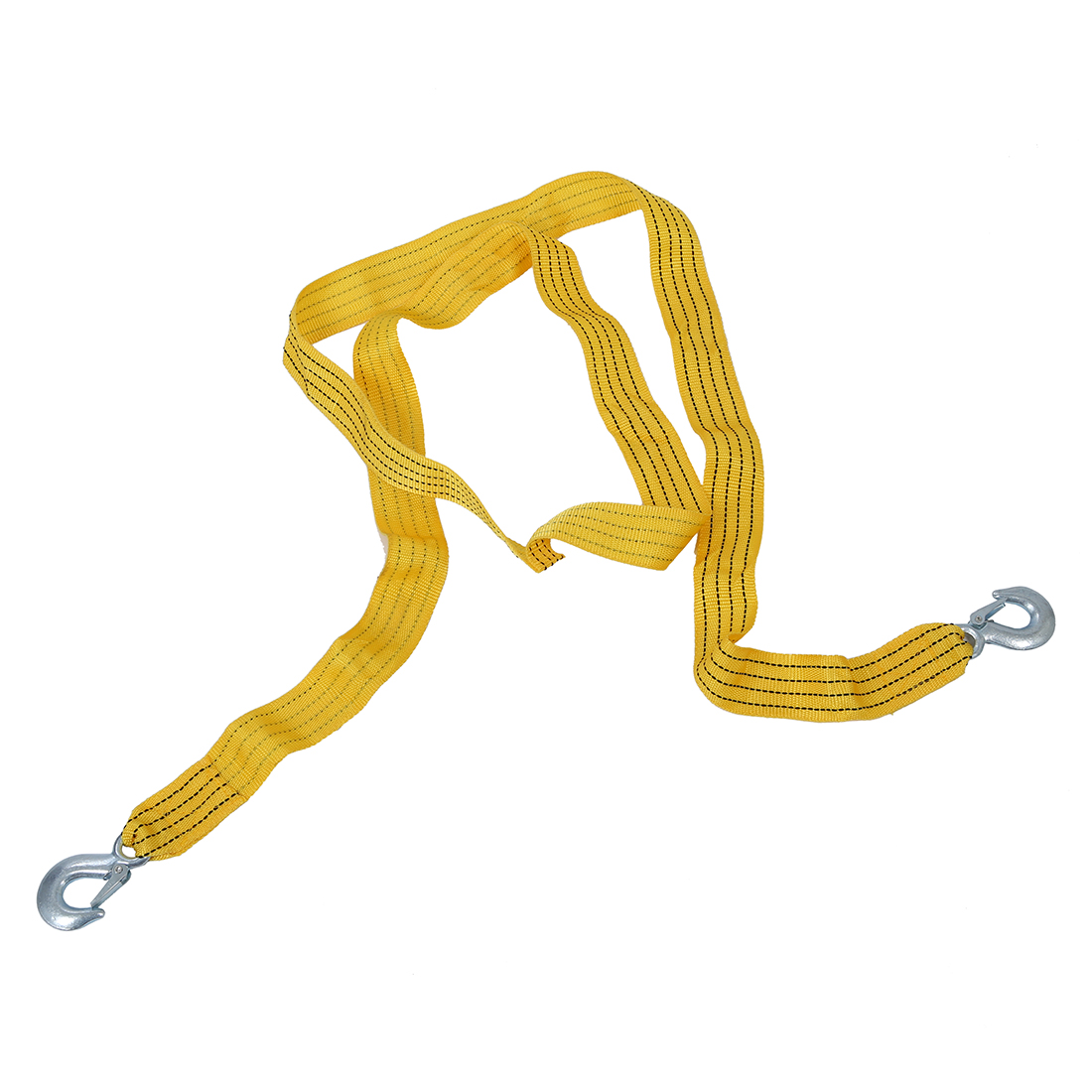 Cable Car Tow Rope with Hooks 3m 3000KG Buckle