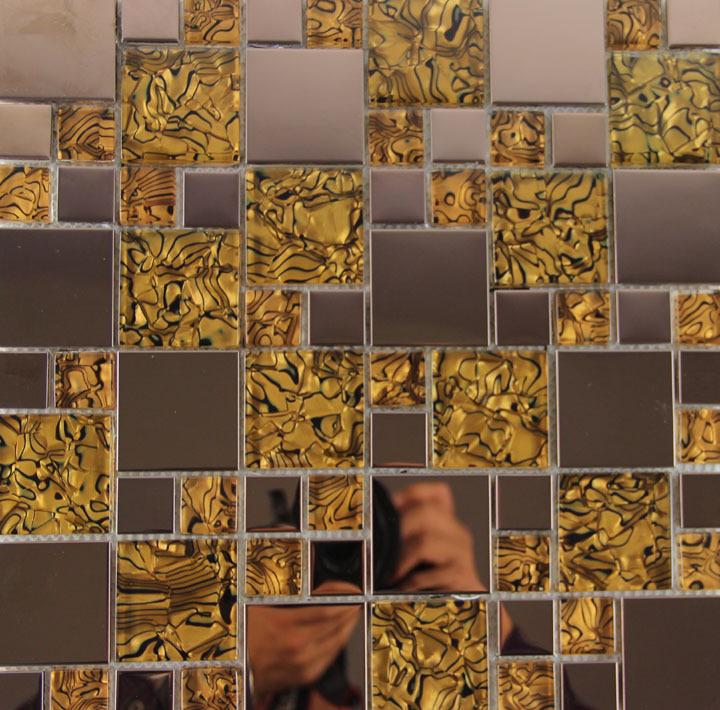 Rose Gold Background Rose Gold Tiger Grain Metal