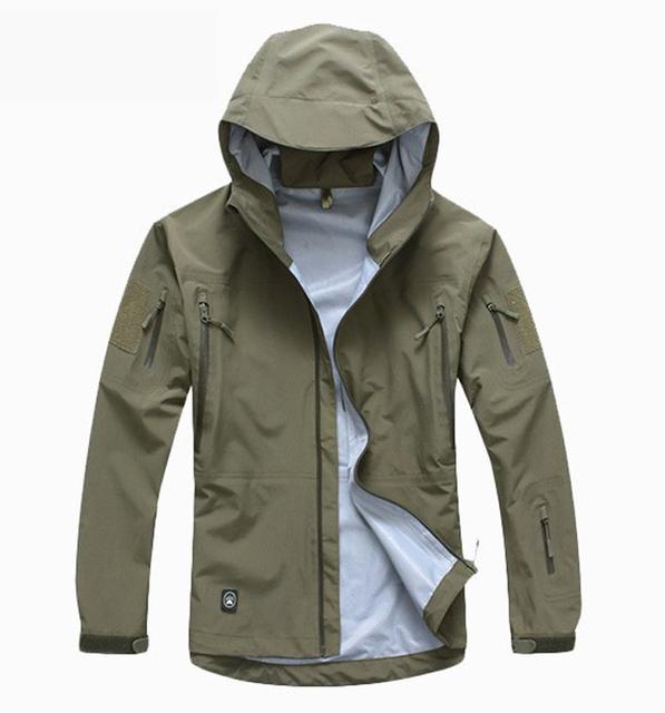 Тактическое приспособление для улицы, стойкое, мужская военная куртка, камуфляж, ...