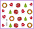10 PCS / LOT Nail Art Water Transfers Stickers Nail Decals Stickers Water Decal Santa Claus Kriss Kringle Christmas Xmas Special