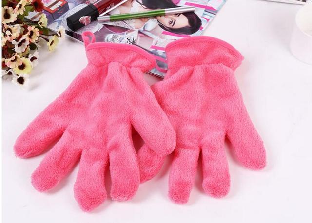 Макияж ластик перчатки высокое качество для снятия макияжа перчатки полотенца Professtional ...