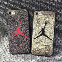 2017 Michael Jordan Jersey 23 Silicone Phone Cases for iPhone 6 6s i6 Plus for iPhone 7 Plus Case Mobile Phone Bag 269(China (Mainland))