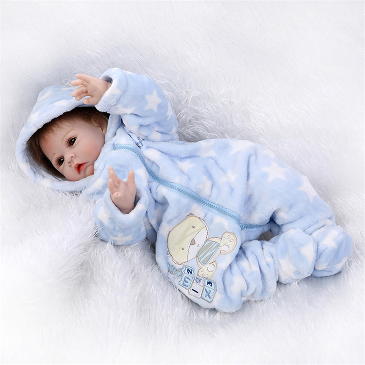 "Aliexpress Buy 22"" Baby reborn dolls with winter"