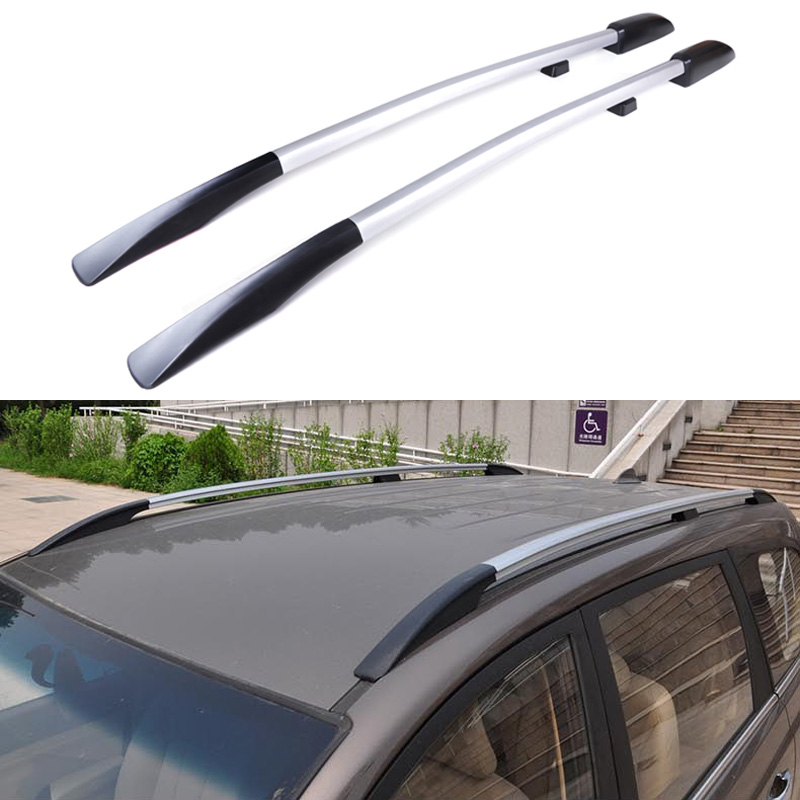 Universal Car Styling Roof Racks Side Rails Bars Luggage Carrier Baggage Holder Aluminum Alloy Auot Accessories High Quality<br><br>Aliexpress