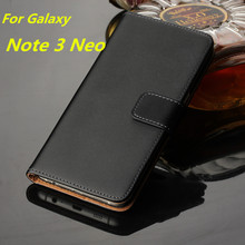 Buy Note3 Neo wallet Leather case Samsung Galaxy Note 3 Neo lite case Luxury Flip Cover Samsung N7505 card holder holster GG for $6.01 in AliExpress store