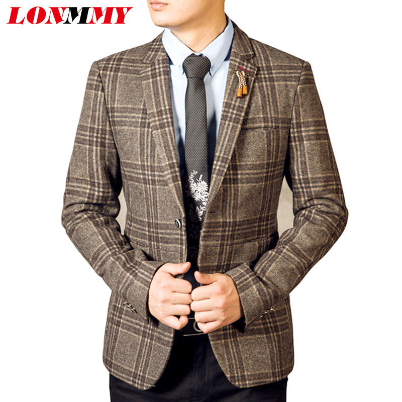 Men Wool Blazer Promotion-Shop for Promotional Men Wool Blazer on