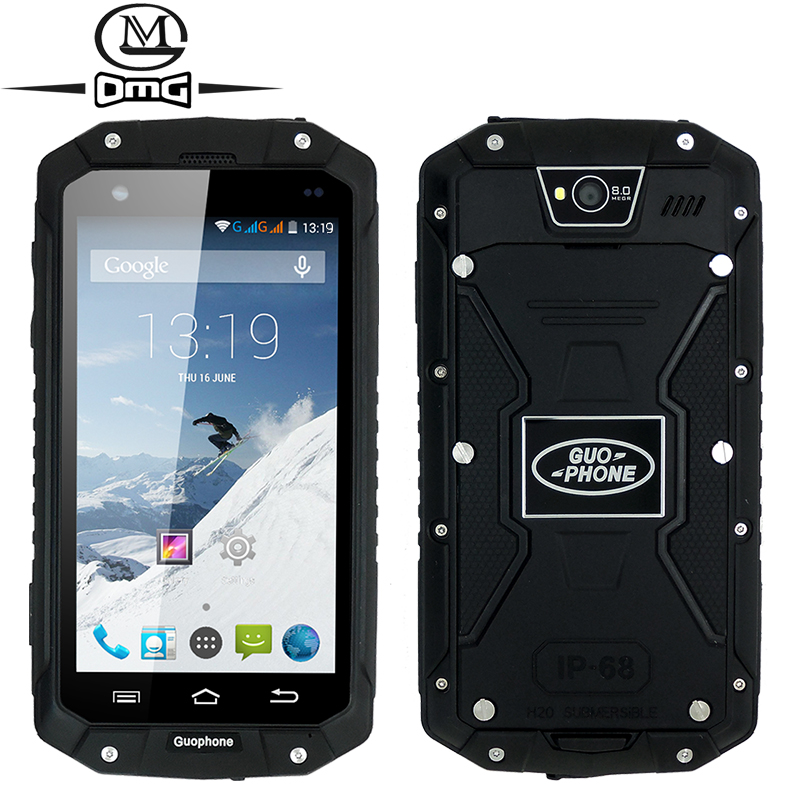 """Original Guophone V9 IP68 Waterproof Shockproof MTK6572 Dual Core 4.5"""" Android 4.4 3G Smartphone Dual SIM card mobile cell phone(China (Mainland))"""