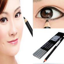 2016 One color hot sale Waterproof Eyeliner Pencil Makeup Cosmetic Black soft Eye Liner Pen E1140(China (Mainland))