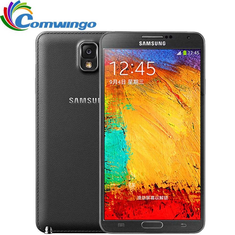 Original Unlocked Samsung Galaxy Note 3 III N9000 Phone LTE WCDMA Quad Core 3G RAM 16G ROM 1080P 13.0MP Quad core 5.7''Screen(China (Mainland))