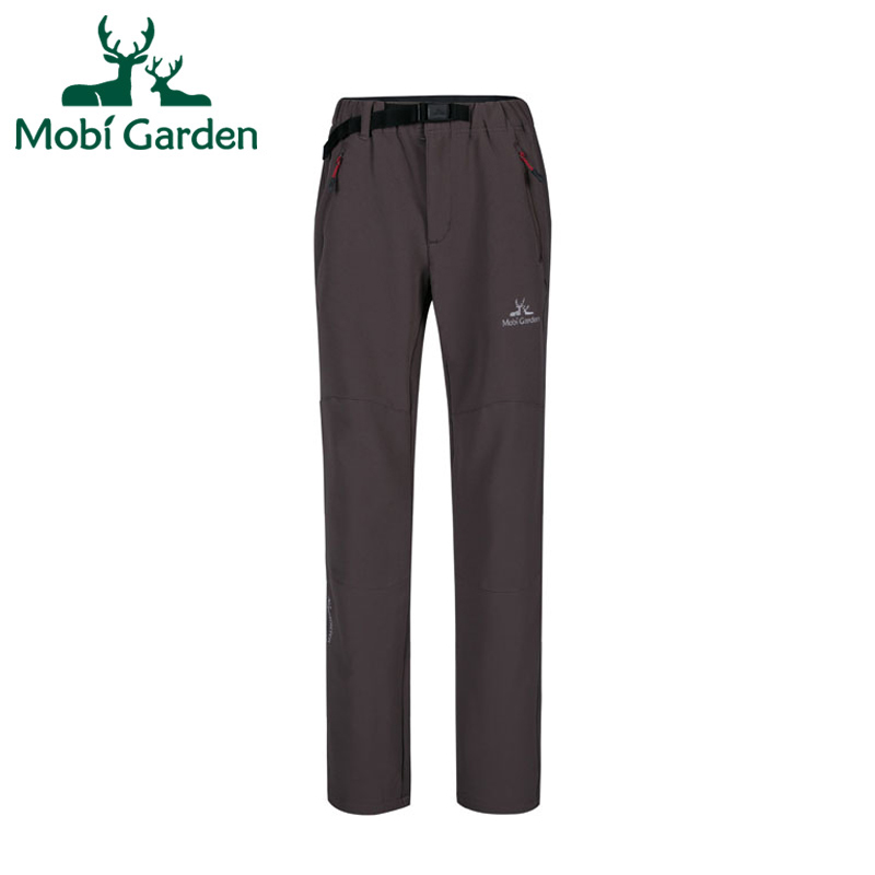 Mobi Garden Outdoor Camping Hiking Windproof Warm Springy Young Ladies Sports Trousers Softshell Pants Women ZWB1302008 WKY058<br><br>Aliexpress