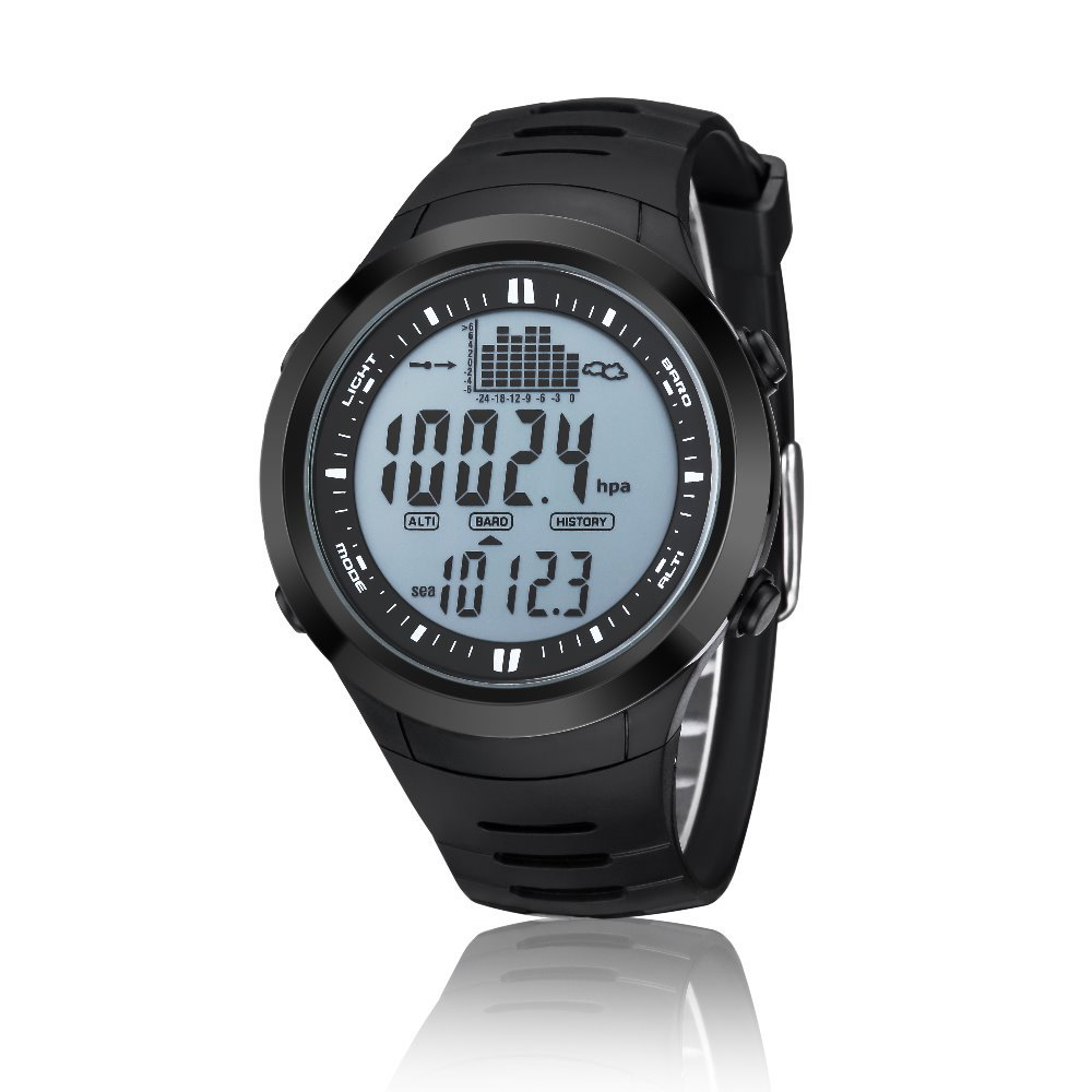 Waterproof  Fishing Watch with Barometer/Thermometer/Altimeter