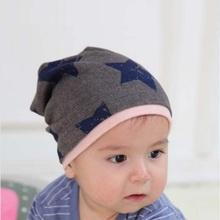 2016 New Unisex Baby Boy Girl Toddler Infant Children Cotton Soft Cute Hat Cap Winter Star Hats Baby Beanies Accessories,CBLH260(China (Mainland))