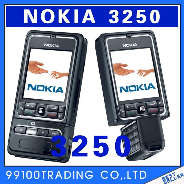 Original Unlock Nokia 3250 Super-long standby rotating Mobile Phone Good quality multilingual free shipping refurbished(China (Mainland))