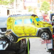 Nuevo coche de dibujos animados en forma de helio globos Foil fiesta de cumpleaños de proveedores inflables juguetes clásicos