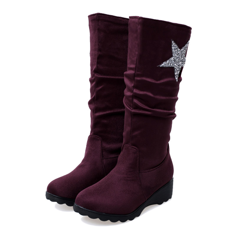 Online Get Cheap Wedge Heels Boots -Aliexpress.com | Alibaba Group