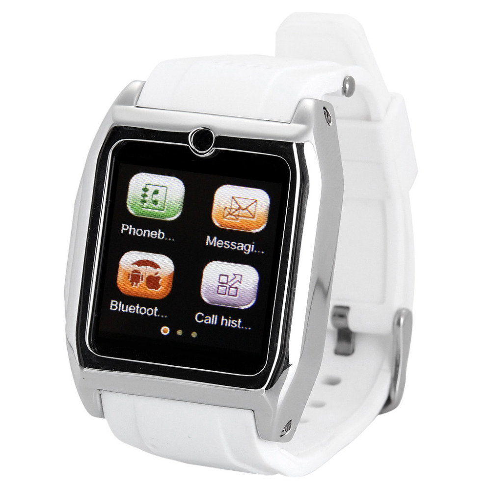 New ! EXCELVAN Unlocked 1.54 Inch Smart Phone Watch Bluetooth GSM Sync Call SMS Camera(China (Mainland))