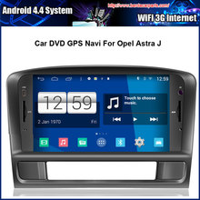 Android 4.4.4 1024*600 Capacitive Screen 1.6G CPU Quad Core Car DVD For Opel Astra J