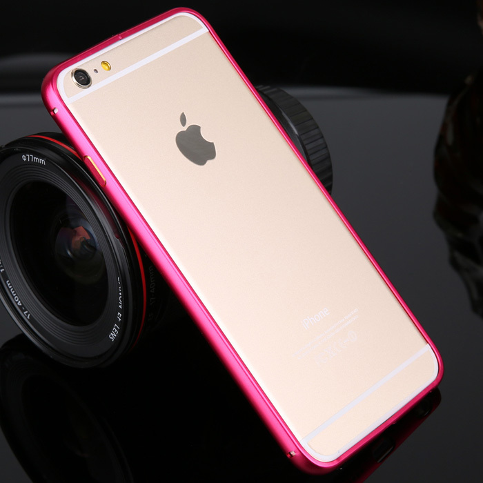 Luxury Frame Bumper for iPhone 6 PLUS High Quality Bussiness style Phone Protector cases shell bumper for iphone model SJ0169(China (Mainland))