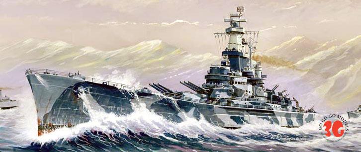 Trumpeter ships model 05762 Alabama 1/700 US Battleship BB-60(China (Mainland))