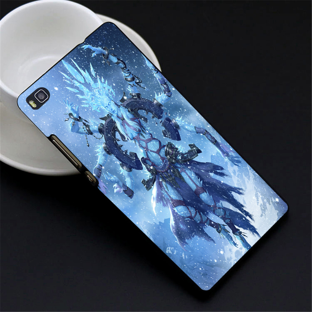 final fantasy shiva by the lane 2016 New Fashion Down Design PC Hard Case Cover For Huawei P9 P9 plus mate 7 8 p8 p8 Lite(China (Mainland))
