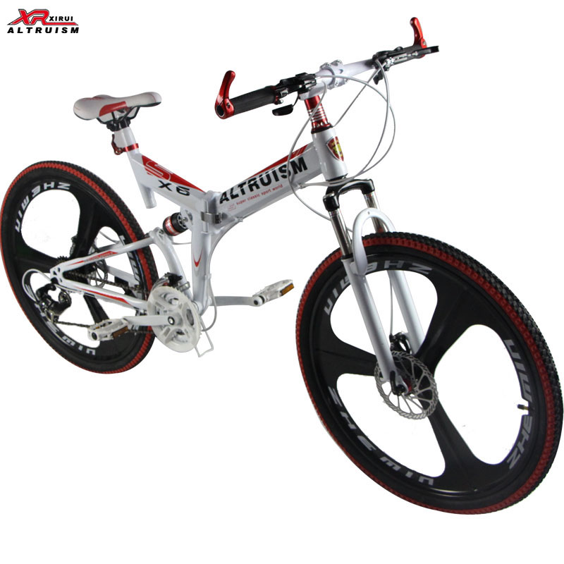 "Altruism X6 Mountain Bicycle 2016 Brand New High Quality Bicicleta 21 Speed 26"" Mountain Bike Racing Double Disck Break Cycling(China (Mainland))"