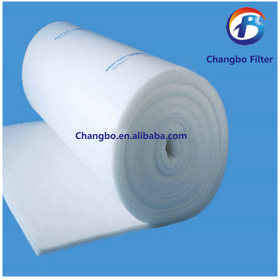 High dust collecting volume ceiling filter media for spray booth(China (Mainland))