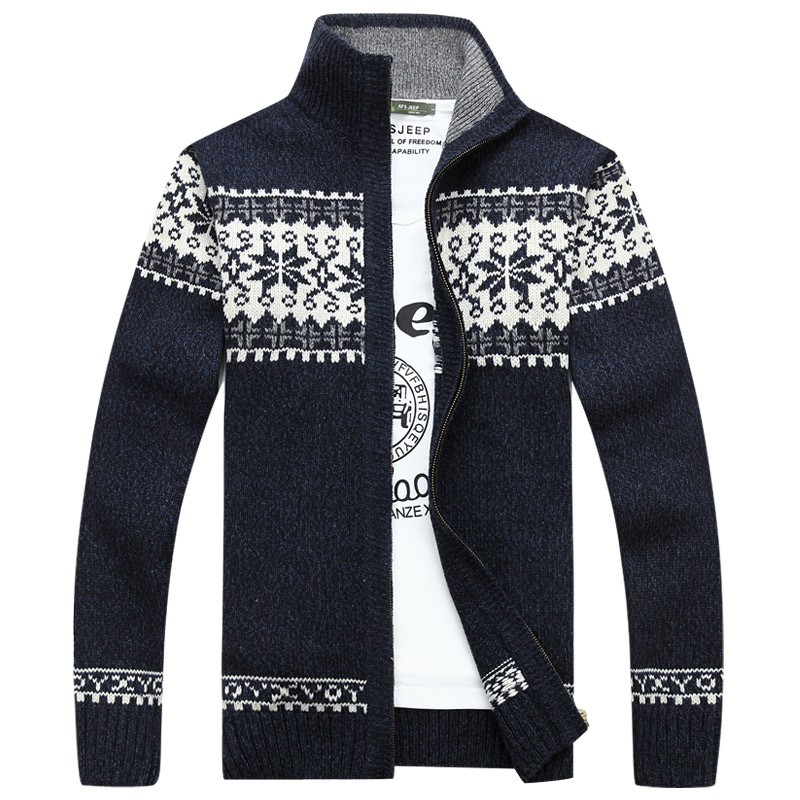 Fall and Winter Men's Sweater Mandarin Collar Sweater and Cardigans For Mens Cardigan Sweaters Coats Outwear Knitwear Clothing(China (Mainland))