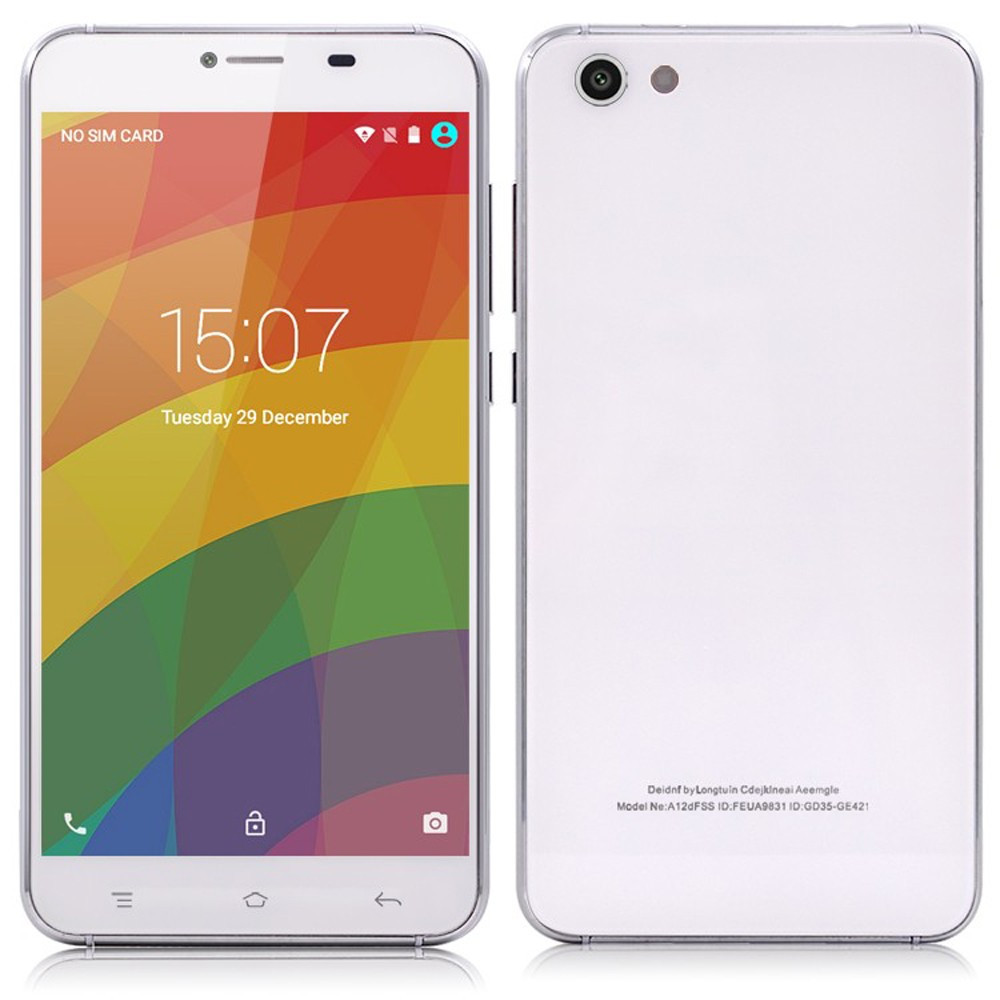 YUNSONG YS2 5.5inch Smartphone Android5.1 telephone MTK6580 Quad Core Cell Phone 512MB RAM 4GB Dual Sim 5MP Camera Mobile Phone