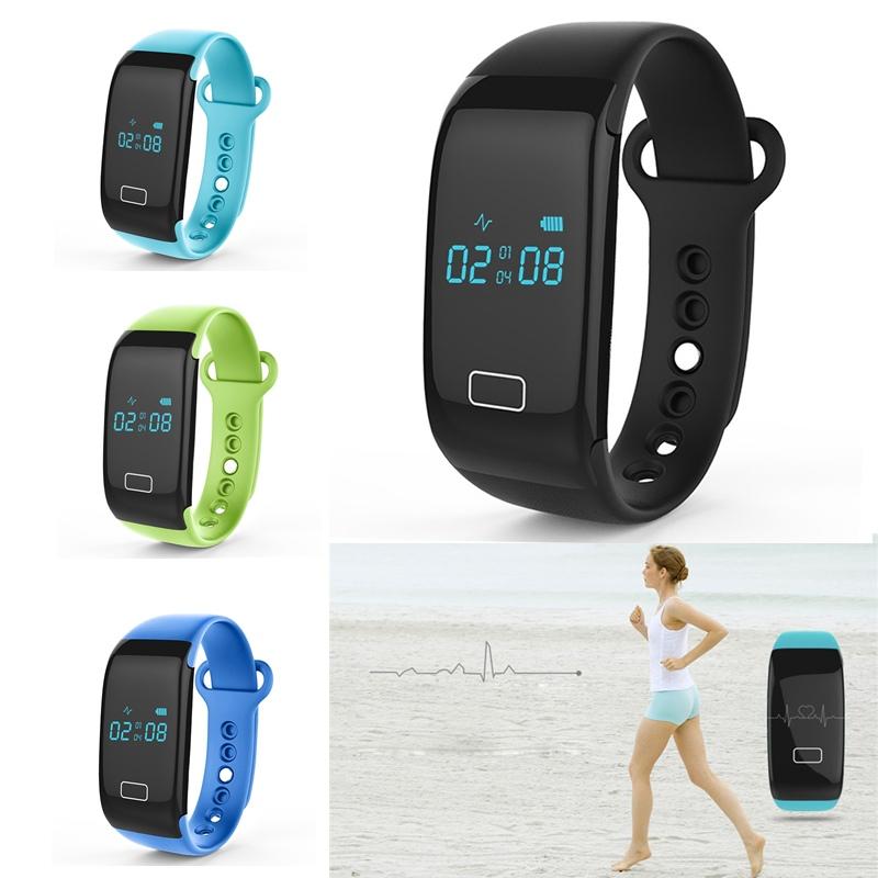 Bluetooth Smartband JW018 smart wristband Pulsera Waterproof Fitness Bracelet Sports Wristband Gear Fitbit Heart Rate for phone<br><br>Aliexpress