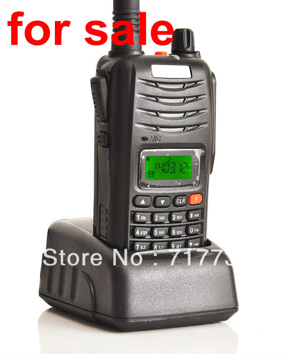 New 7W 199CH Walkie Talkie UHF/VHF H555 Interphone Transceiver Two-Way handheld Radio with LCD Mobile Portable Itercom(China (Mainland))