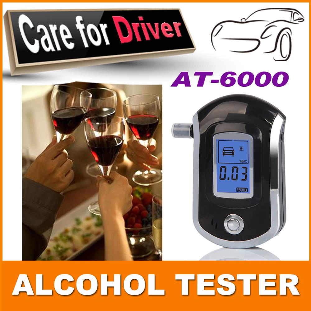 2015 prefessional police digital breath alcohol tester Breathalyser alcoholmeters dropshipping(China (Mainland))
