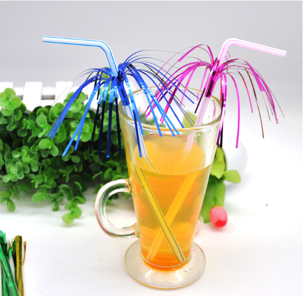 Free shipping 100pcs lot art plastic straws with plastic for Plastic straw art