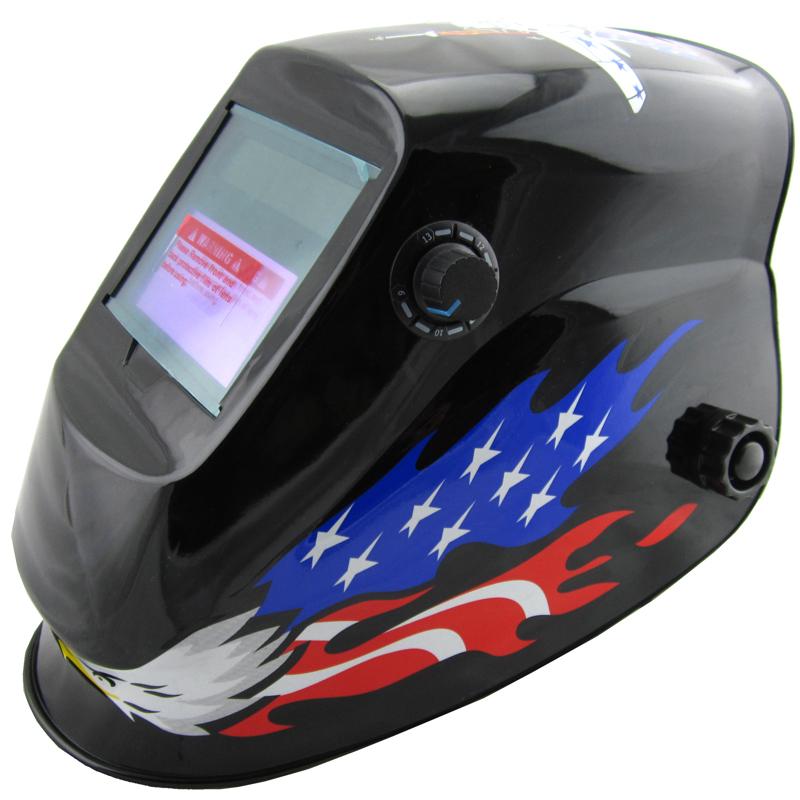Manufacture selling eagle paint Li battery+ solar auto darkening welding mask/welding helmet/welder glasses for the welder use(China (Mainland))