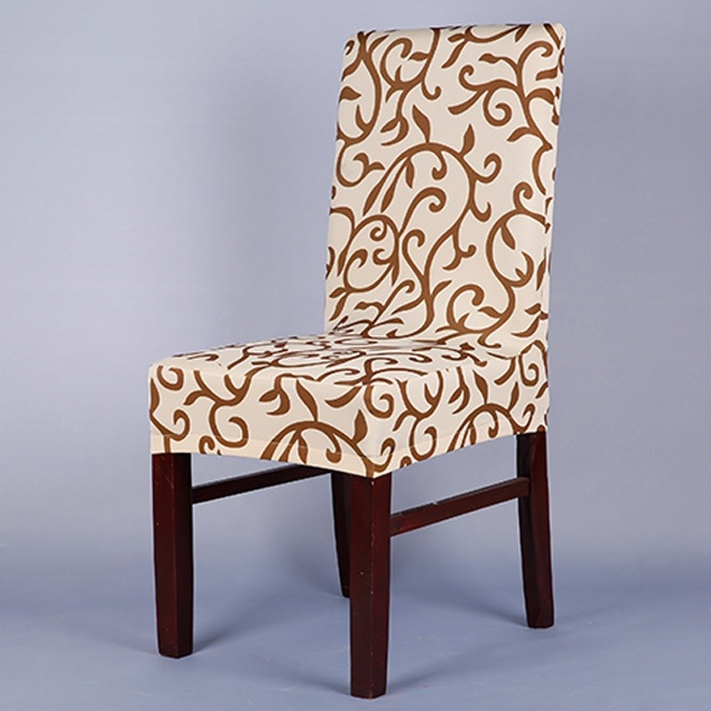 1PC Printing Spandex Stretch Dining Chair Cover housse chair cover lycra housse chaise coton fundas de sillas cubre sillas boda(China (Mainland))