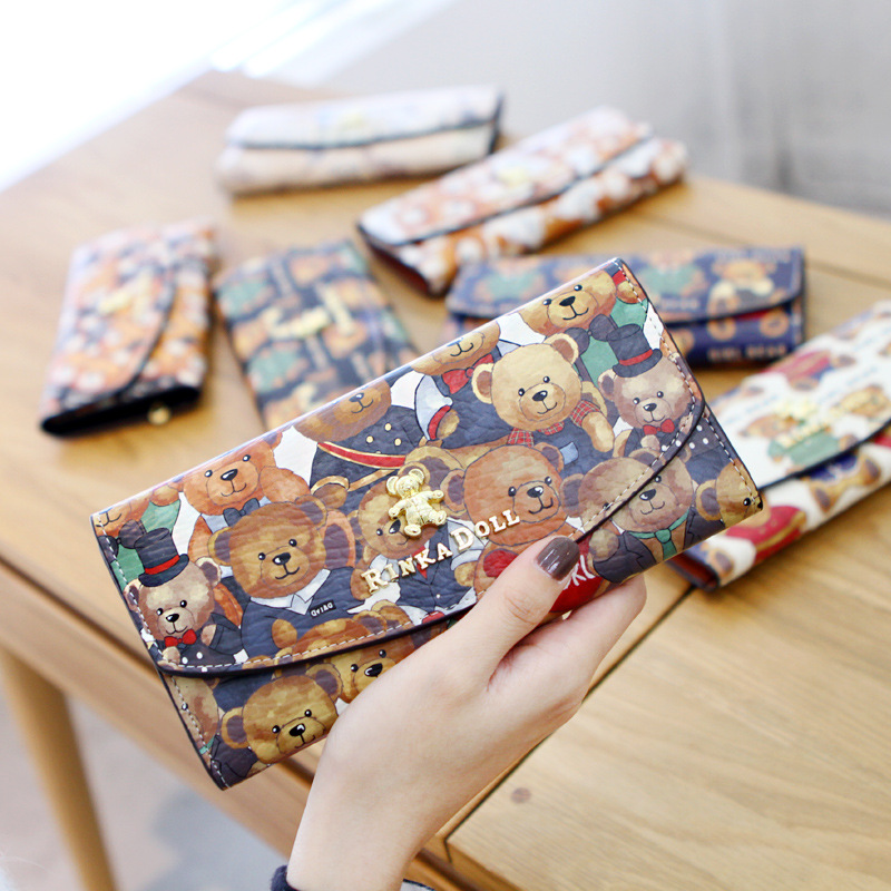 hermes passport - Aliexpress.com : Buy Hot ! Long Purses For Teen Girls Bear Women ...