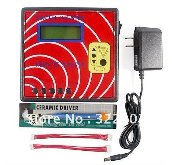Digital Counter Remote Master remote control copy, remote duplicator