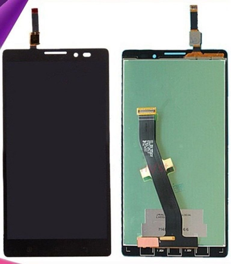 100% Original For Lenovo K910 full LCD Display Touch Screen Panel Digitizer Assembly for VIBE Z Cell Phone(China (Mainland))
